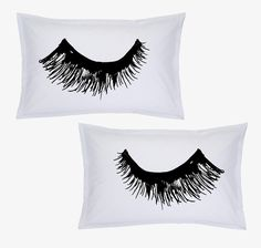 The Lashes Pillow Cases