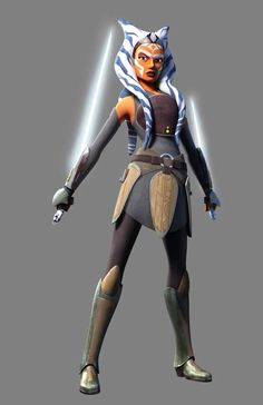 Ahsoka new look. Star Wars rebels