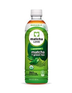Matcha Love Organic Matcha and Green Tea, Traditional, 16.9 Ounce (Pack of 12) * More info could be found at the image url.
