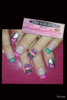 Cure Nail Polish Designs, Cool Nail Designs, Shellac Nails, Toe Nails, Indian Nails, Finger, Nail Patterns, French Tip Nails, Nail Decorations