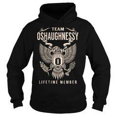 Awesome Tee Team OSHAUGHNESSY Lifetime Member - Last Name, Surname T-Shirt T-Shirts