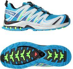 7d8d9df2a Salomon Women s XA Pro 3D CS WP Trail-Running Shoes Fog Blue Light Onix