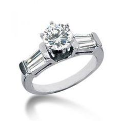 DDER - 1003 : Round Semi Mount Engagement Ring Dallas Texas : Wholesale Round Semi Mount Engagement Rings at Diamore Diamonds Dallas - Wholesale Diamonds and Custom Diamond Rings