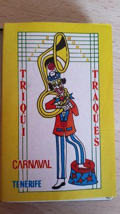 Cassette Triqui Traques, año 82. Carnaval de Santa Cruz de Tenerife