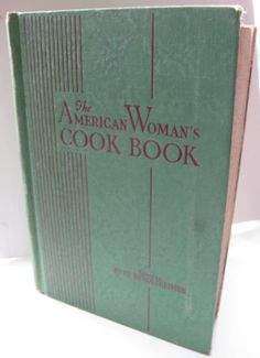 American Woman's Cookbook classic hardcover by mudintheUSA on Etsy, $12.50