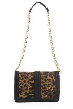 OLIVIA CHAIN BAG (Leopard)