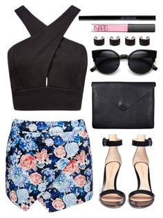 """Untitled #160"" by trendsetter-98 ❤ liked on Polyvore featuring Forever New, NARS Cosmetics, Gianvito Rossi, Just Female, Urban Decay and Maison Margiela"