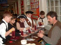Travel in Time: Colonial Day Ideas 5th Grade Social Studies, Teaching Social Studies, American Heritage Girls, American History, Colonial America Unit, Colonial Games, Pioneer Crafts, Tapestry Of Grace, 13 Colonies