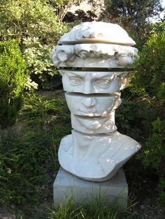 Jardin et sculpture-Dominique Lafourcade Image via: http://pinterest.com/source/m.dominique-lafourcade.com