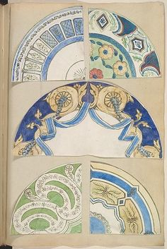 Designs for Decorated Plates | The Metropolitan Museum of Art