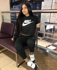 Best Cute Outfits For School Part 21 Cute Outfits For School, Teenage Outfits, Cute Swag Outfits, Chill Outfits, Sporty Outfits, Nike Outfits, Trendy Outfits, Jordan 11 Outfit, Jordan Outfits Womens