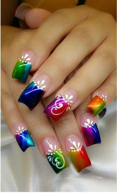 70 Trendy Spring Nail Designs are so perfect for this season Hope they can. - 70 Trendy Spring Nail Designs are so perfect for this season Hope they can… – Nails – # - Spring Nail Art, Nail Designs Spring, Cute Nail Designs, Spring Nails, Summer Nails, Beautiful Nail Art, Gorgeous Nails, Pretty Nails, Beautiful Pictures