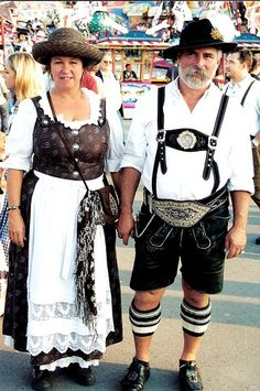 You'll see plenty of dirndl and lederhosen at Oktoberfest. Oktoberfest Costume, Lederhosen, German Outfit, Costume Contest, Munich, Well Dressed, Costumes, Womens Fashion, Germany