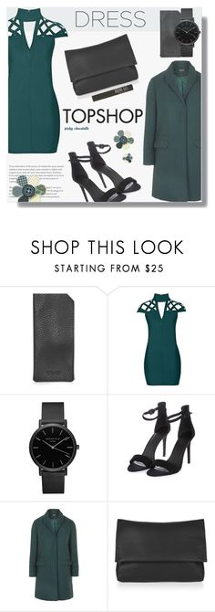 """""""Choker Dresses: 22/02/17"""" by pinky-chocolatte ❤ liked on Polyvore featuring Topshop and Rare London"""