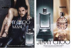 JIMMY CHOO MAN 2015 print ad parfum perfume KIT HARINGTON sample smell strip