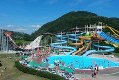 Op zoek naar een aquapark in Slovenie? Denk dan eens aan Terme Olimia in het oosten van het land. Met Aqualuna, zwembad, wellness en nog veel meer.