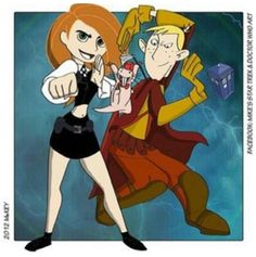 Kim Possible meets Doctor Who. So cute.