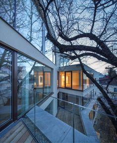 pedit & partner architekten Style At Home, Partner, Mansions, House Styles, Home Decor, Architects, Projects, Mansion Houses, Homemade Home Decor