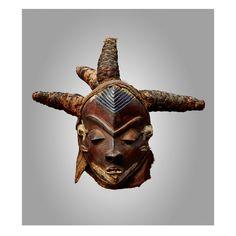 African Masks, African Art, African Sculptures, Gaston, Republic Of The Congo, Art Gallery, Lion Sculpture, Statue, December