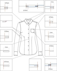 to make sewing pattern graphics Sewing Lessons, Sewing Hacks, Sewing Tutorials, Tailoring Techniques, Sewing Techniques, Dress Sewing Patterns, Clothing Patterns, Pattern Sewing, Mens Shirt Pattern