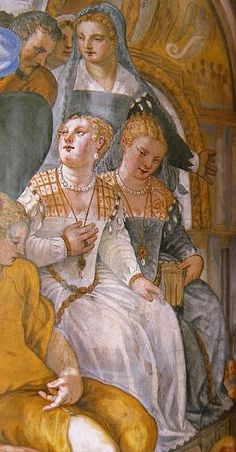 operafantomet uploaded this image to See the album on Photobucket. Renaissance Portraits, Renaissance Fashion, Italian Renaissance, Renaissance Art, Italian Outfits, Italian Clothing, Fresco, 16th Century Clothing, Medieval Fair
