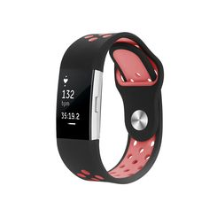 Fitbit Charge 2 Band, Hanlesi Silica gel Soft Silicone Adjustable Fashion Replacement Sport Strap Band for Fitbit Charger 2 Smartwatch Heart Rate Fitness Wristband. Perfect fit for your Fitbit Charge 2 Band activity tracker and comfortable wearing experience.Different size for men and women. Fashion design, both lightweight and durable. And a row of pressing die forming air holes, not only further reduce the weight, but also improve the permeability.Silica gel materials, environmental...