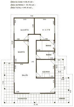 plano electrico de una casa