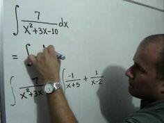 Integración por Fracciones Parciales: Julio Rios explica cómo resolver una integral por el Método de Fracciones Parciales.