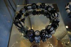 Lampwork Glassbeads by SybillSalabim ARMBAND