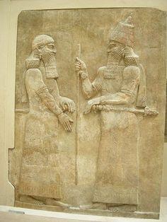 Mesopotamia y los cuidados de hombres. Extraños comportamientos de higiene.