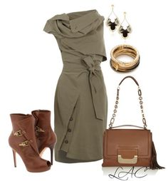 Olive Green Dress combination <3 Win $ 50 Sephora Gift Card Giveaway on Bmodish.com. It will be ends on June, 23th 2013