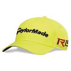 TaylorMade TM15 Tour Cage Hat SmallMedium Sharp Lemon * Read more  at the image link.