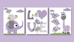 Digital Nursery Art Nursery Digital Print by nataeradownload