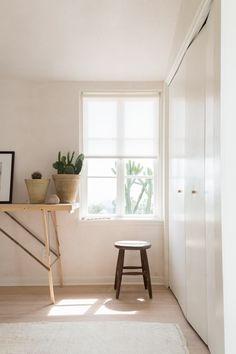 Gordana Golubovic LA Home Desk in Bedroom, Photo by Lauren Moore
