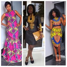The African Shop is a UK based Etsy boutique that delivers neatly tailored ankara and cotton designs which were hand sewn in Africa. They delivery to the UK and US and carry a range of styles from work place casual to floor length gowns, so you can find outfits for nearly any occasion. They're also budget friendly and have good customer service reviews. Images from the African Shop page on Facebook. Shop looks here