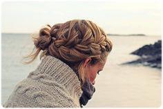 #updo #hair