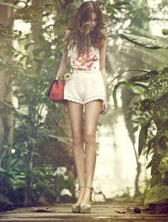 #floral #summer #spring #fashion #style #garden