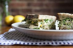... from the World Pantry: Chicken Salad Sandwiches with Preserved Lemon