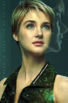 """Tris prior fan made insurgent """"too red of lips, and too long of lashes"""""""