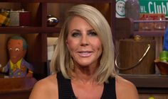 RHOC star Vicki Gunvalson is claiming to have a big announcement coming later today. Vicki Gunvalson, Vip, Announcement, Hair Color, Hairstyles, Queen, Girls, Beauty, Haircuts