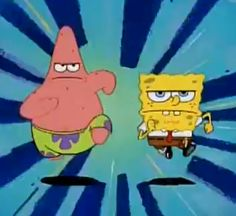 When you and your friends are on a mission to get laid: | 28 Times Spongebob Perfectly Summed Up Your Night Out