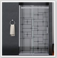 61 ideas bathroom door stickers frosted glass for 2019 Glass Shower Doors, Bathroom Doors, Glass Door, Bathrooms, Glass Film Design, Sticker Transparent, Glass Partition Designs, Rustic Bathroom Wall Decor, Glass Office