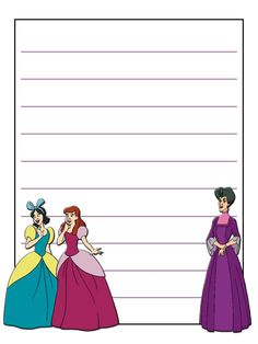 """Drizella, Anastasia and Lady Tremaine - Cinderella - Project Life Journal Card - Scrapbooking ~~~~~~~~~ Size: 3x4"""" @ 300 dpi. This card is **Personal use only - NOT for sale/resale** Clipart belongs to Disney *** Click through to photobucket for more versions of this card ***"""