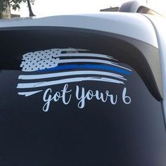 Thin Blue Line Decal Blue Line Flag Thin Blue by VinylDecalShoppe Back The Blue Decal, Thin Blue Line Decal, Thin Blue Line Flag, Thin Blue Lines, Blue Line Police, Police Wife Life, Police Family, Police Quotes, Leo Wife