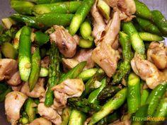 Pollo con asparagi: la ricetta light  #ricette #food #recipes