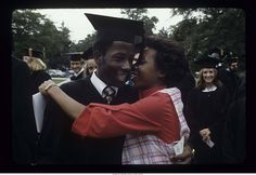 """""""Ball State University summer commencement, 1979"""" - To learn more, visit the Ball State University Campus Photographs in the Ball State University Digital Media Repository. Copyright 2012, Ball State University. All rights reserved."""