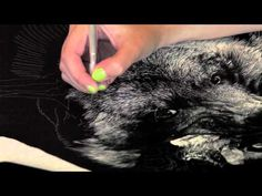 A short video demonstrating how I work in scratchboard. The original video captured an 11 minute working session, but for the sake of internet playback it ha. Striped Hyena, Middle School Art Projects, Scratchboard Art, Scratch Art, Art Lesson Plans, Art Challenge, Learn To Paint, Art Tips, Medium Art