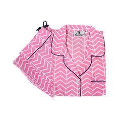 Vortex Pink Pajama Set L Pajamas ($27) ❤ liked on Polyvore featuring intimates, sleepwear, pajamas, pink pjs, organic cotton sleepwear, pink sleepwear, pink pajamas and organic cotton pajamas