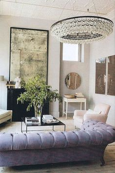 This Ochre chandelier.