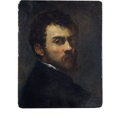 Jacopo Tintoretto: self-portrait as a young man. | Tintoretto, Jacopo Robusti | V